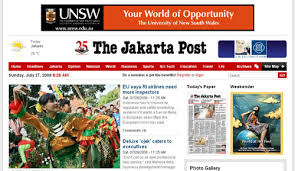 THE JAKARTA POST DILAPORKAN KE BARESKRIM
