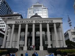 Gedung Mahkamah Konstitusi yang megah.