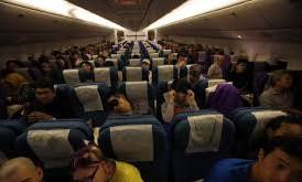 Ruang Dalam Pesawwat MH17 milik maskapai penerbangan Malaysia