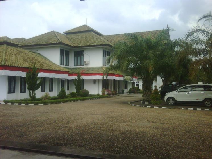 Gedung Pengadilan Negeri Sengeti kabupaten Muaro jambi