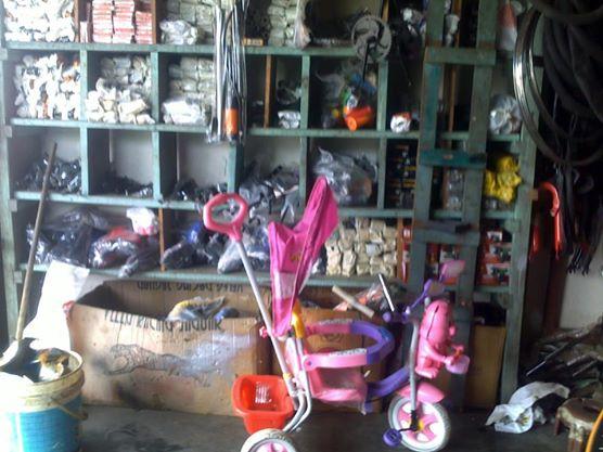 Berbagai Macam dan type Orderdil Sepeda yang disediakan di Bengkel sepeda tersebut