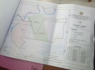 Peta Hasil PS Oleh BPN Muaro Jambi