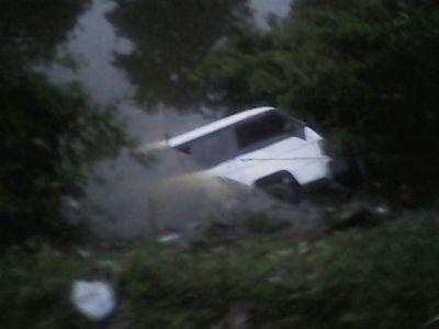 Kecelakaan Di Aur Duri,Jambi mengakibatkan jatuhnya 6 korban.RESKRIM.Doc
