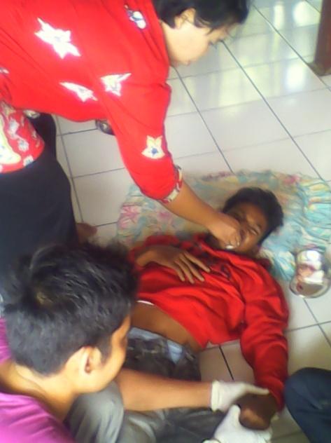 Pertolongan Pertama Diberikan Oleh Puskesmas Desa Bakung Kabupaten Muaro jambi.RESKRIM.Doc