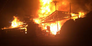 FACTORY plywood flames APPROXIMATELY 2 BILLION LOSS