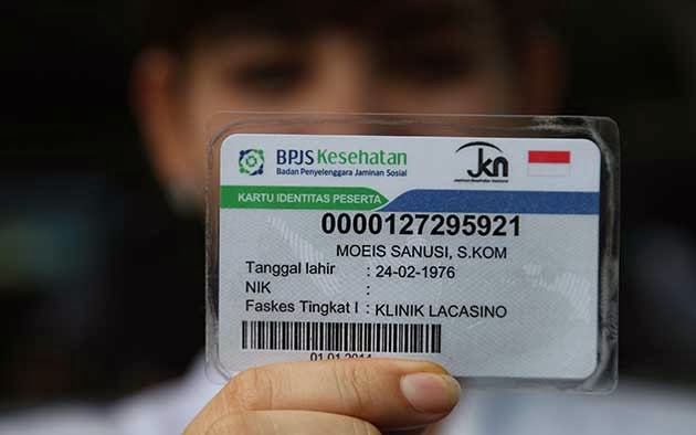 Circulation SUSPECTED IN COUNTERFEIT CARDS BPJS MUAROJAMBI: ERNAF YET RECEIVED SAMPLE