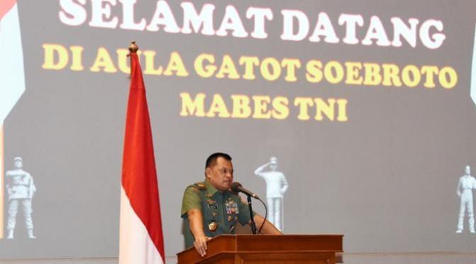 Panglima TNI Ajak Mahasiswa Siap Hadapi Proxy War