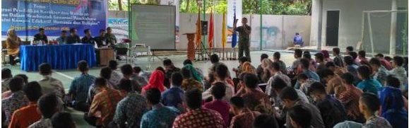 Dandim 0415/Batanghari Berikan Materi Wawasan Kebangsaan Bagi Calon Mahasiswa Baru Politeknik Jambi