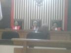 Suroso Digelandang ke PN Tipikor Jambi Dugaan Kasus Korupsi Dana Bansos